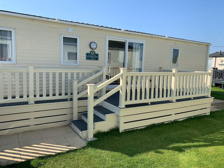 Luxury static caravan. Tattershall lakes.