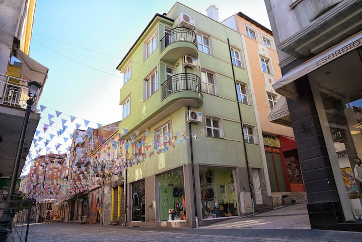 Apartments Plovdiv Penthouse Kapana,old town