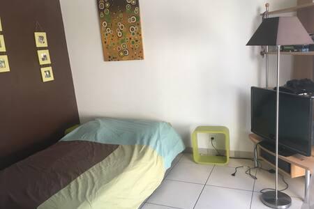 Chambre sdb privée Nantes près Carquefou Petit déj