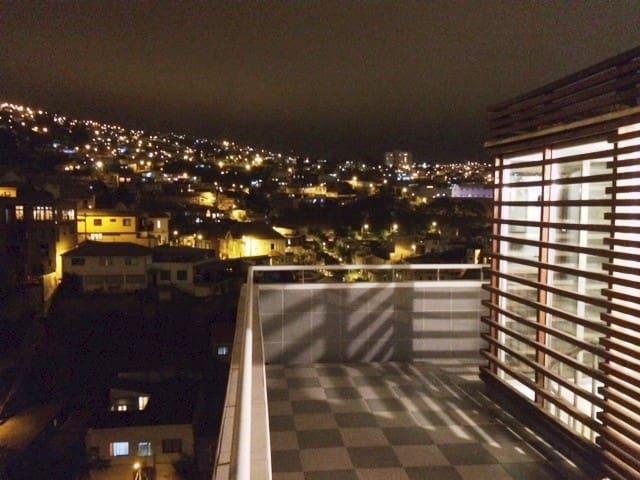 Moderno Loft con vista panorámica de Valparaiso