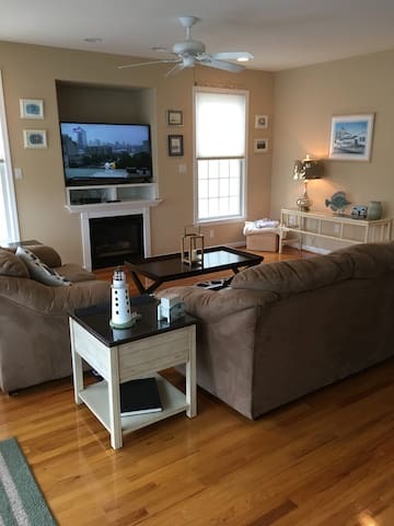 Beach Block Home, best location on the island!