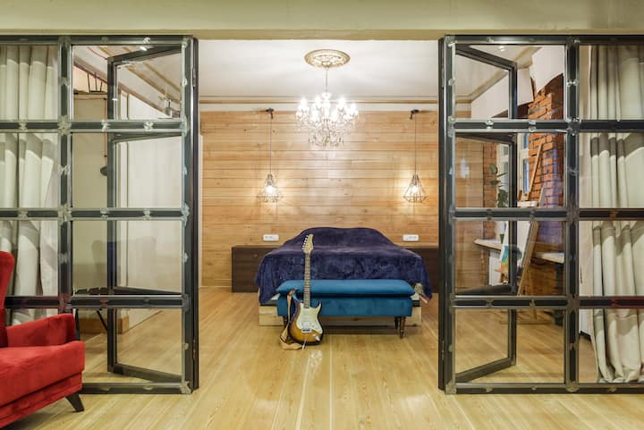 Fantastic cozy loft in Moscow center