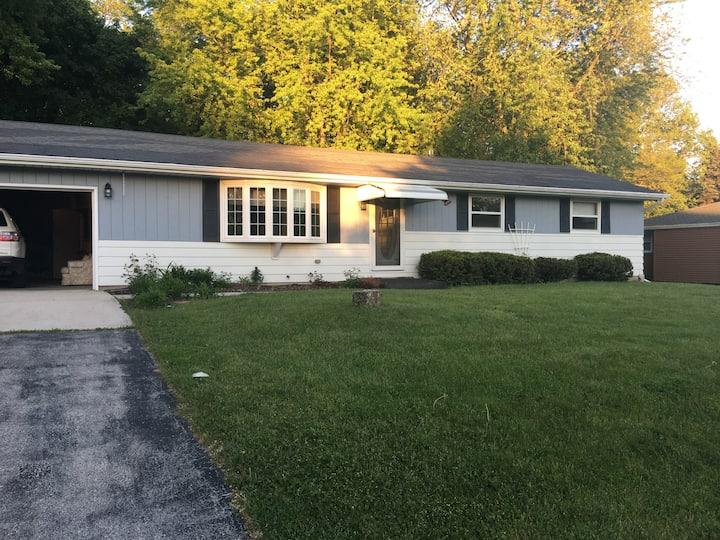 Elkhart Lake Village house