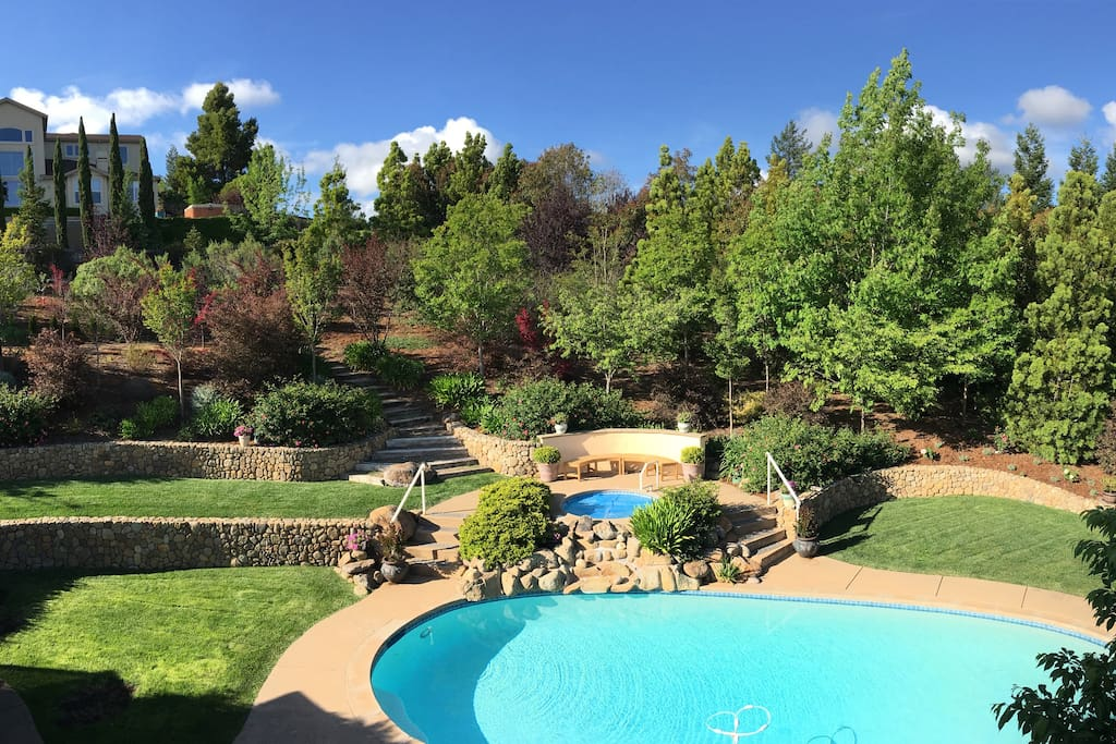 Expansive backyard for exploring and privacy