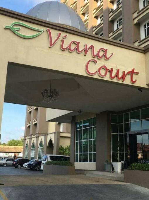 Lobby Hotel Viana Court