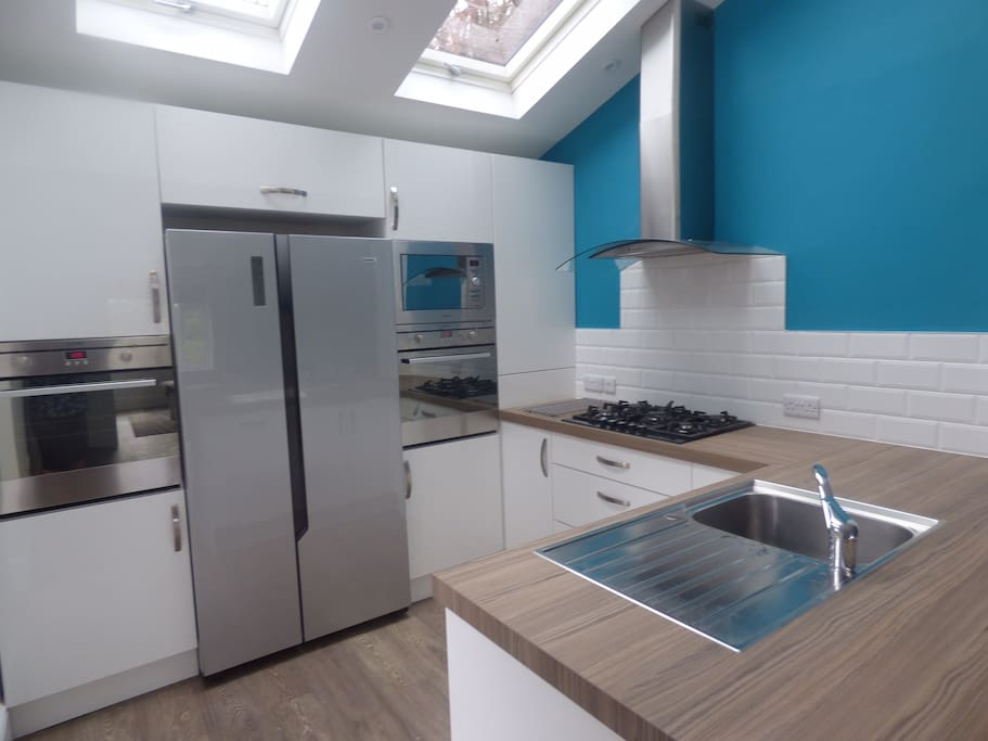 Modern kitchen with state of the art appliances