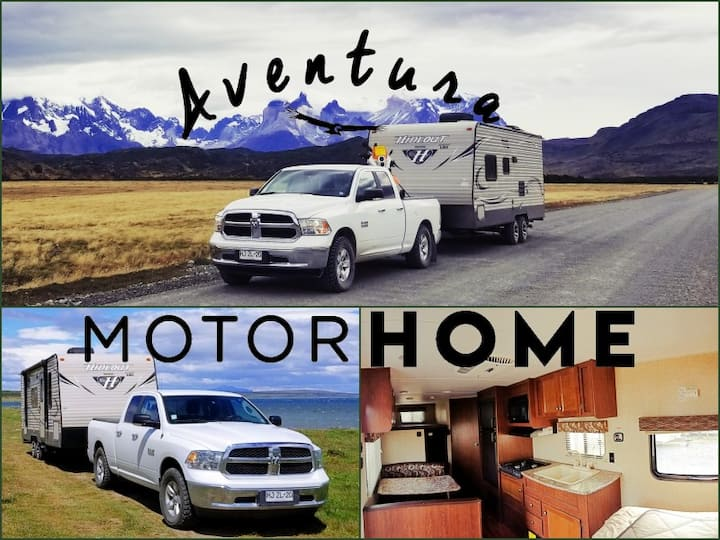 Aventura Motorhome (Hideout) en Torres  del Paine