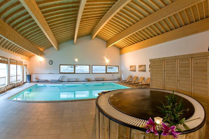 6Pl Appartement 3Vallées SPA Sauna
