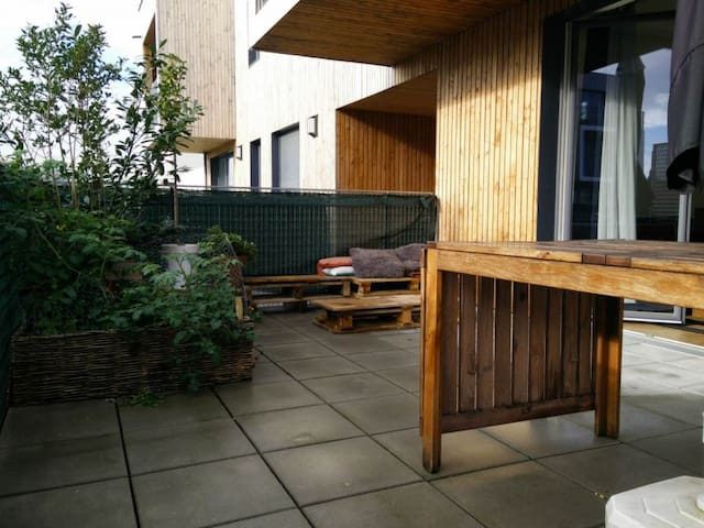 Appartement cosy et moderne, grande terrasse - Lilla