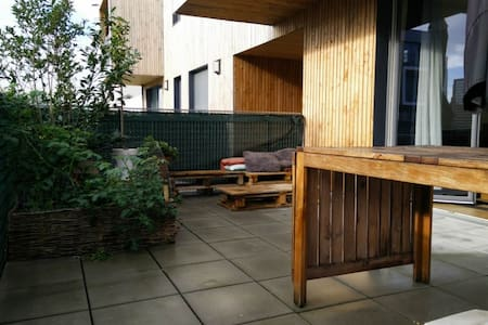 Appartement cosy et moderne, grande terrasse - Lille - Daire
