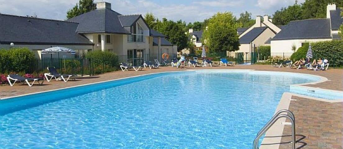 Cottage 6P pres des plus belles cotes du Morbihan
