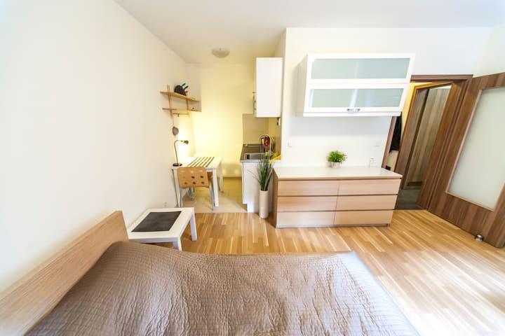 Apartment in Dortmund-City für 1-2 mit Parkplatz