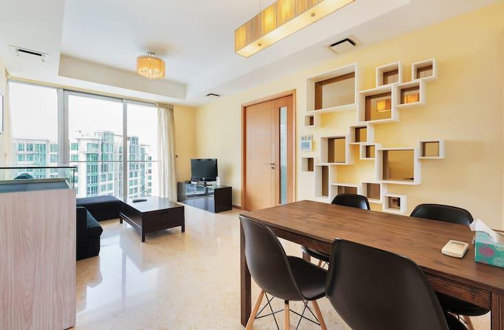 Luxury Resort Apartment Next To Sentosa!