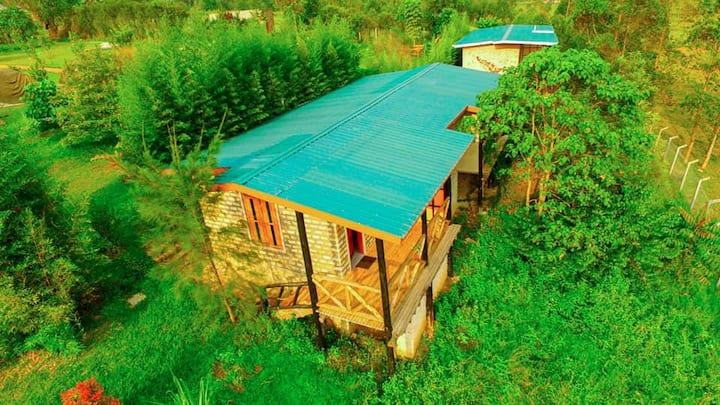 Experience rural life in safe and clean cottage