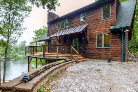 Lakeside 3BR Highland Lakes Home w/Private Dock - Vernon Township - Σπίτι