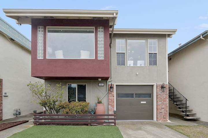 Your Homey House in Bay Area of San Francisco - Daly City - Huis