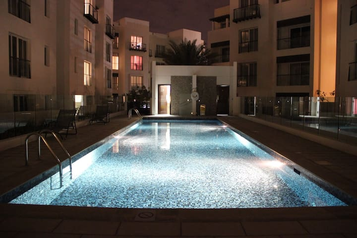 Fabulous 2 bedrooms apt in Al Mouj Muscat
