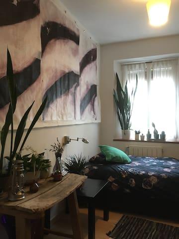 Habitación tranquila en hogar.