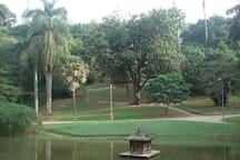 Jardim do Parque Guinle 2 minutos do apartamento