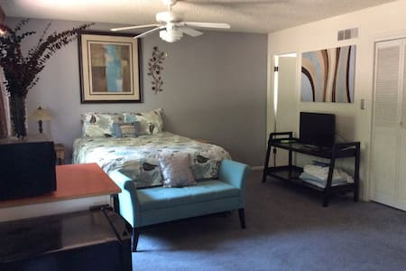 Comfortable, quiet midtown suite with lots of room - Fort Collins