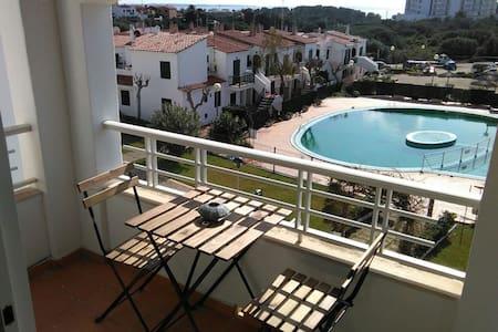 Cala'n Blanes con vistas al mar y piscina - Ciutadella de Menorca - Wohnung
