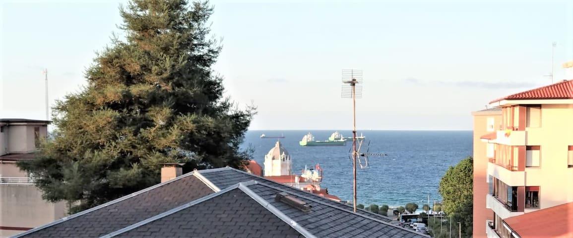 Piso nuevo con vistas al mar a dos min de la playa