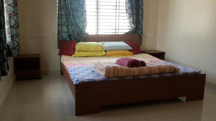 Melrose Place Gokulam 1 bedroom apartment.