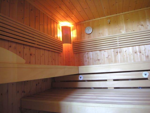 Sauna in abete scandinavo