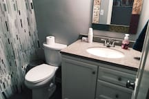 Full bathroom (shared or private, depending on other house guests)