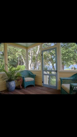 Front porch (River views)