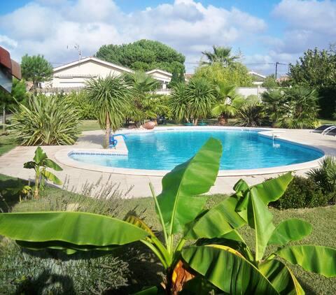 Maison 2 pièces avec piscine aux portes d'Arcachon
