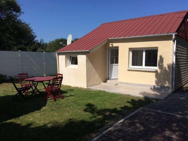 Sangatte : Maison à 100m de la plage avec jardin