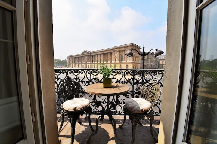Stunning 1bedroom facing the Louvre Museum