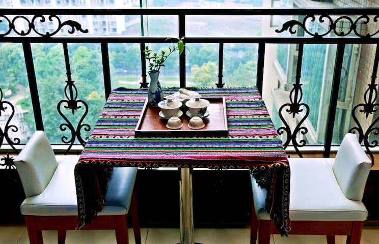 76㎡大两室freedom house自由小屋/地铁/太古里/春熙路/文殊院/天府广场 - Chengdu - Appartement