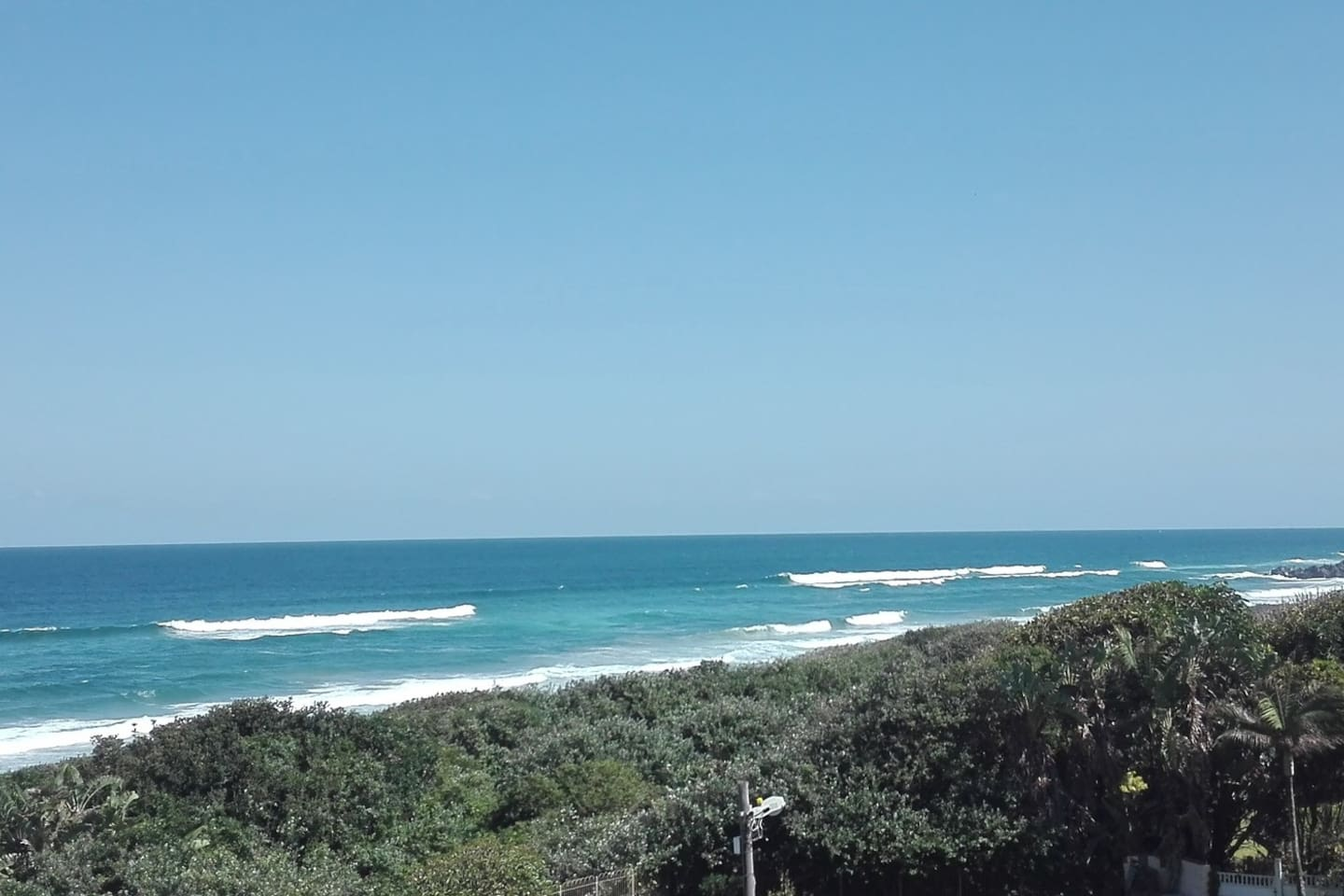 Breath taking seaviews --- relax with the sound of the surf. View over Winklespruit beach.