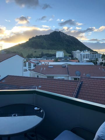 View from balcony - Mount Maunganui