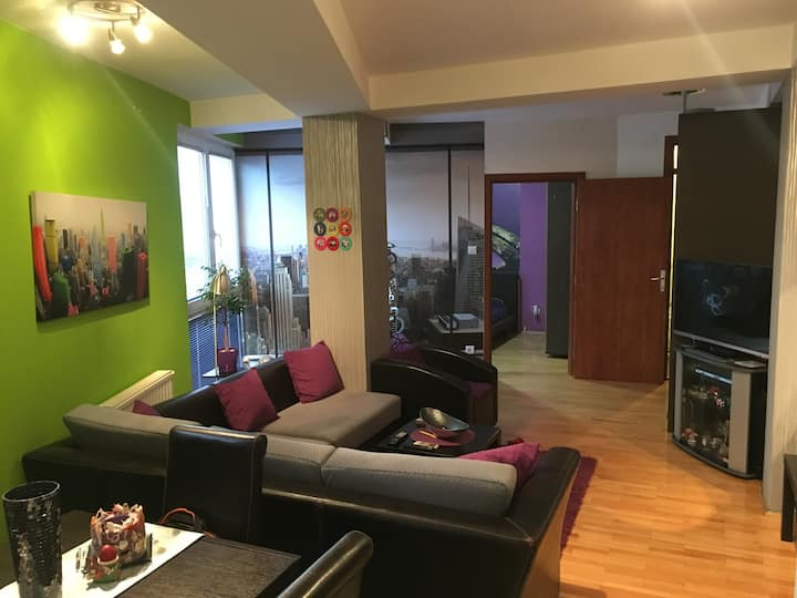 Lux apartament near to the city center