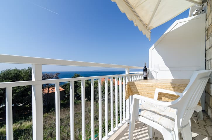 Villa Ana - One Bedroom with Balcony & Sea View 3 - Potomje - Appartement