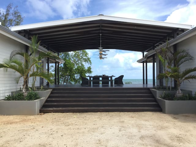 Welcome to the cabanas! View of the front entrance to property~