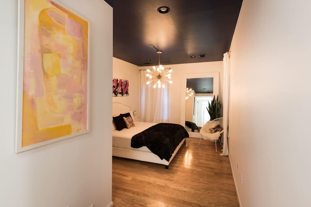 Spacious master bedroom!