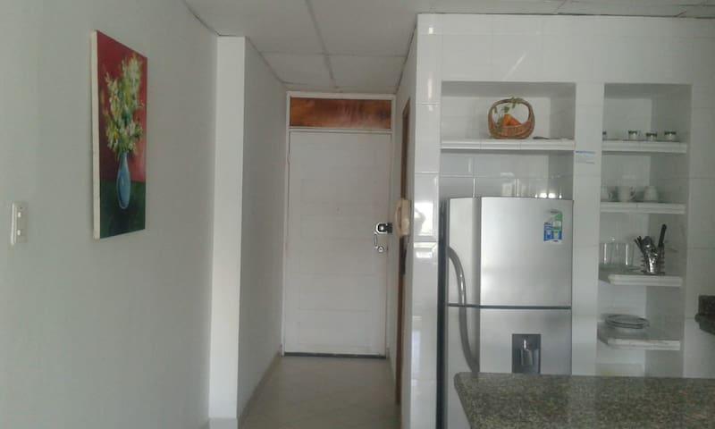 Apartaestudio en el Laguito Cartagena