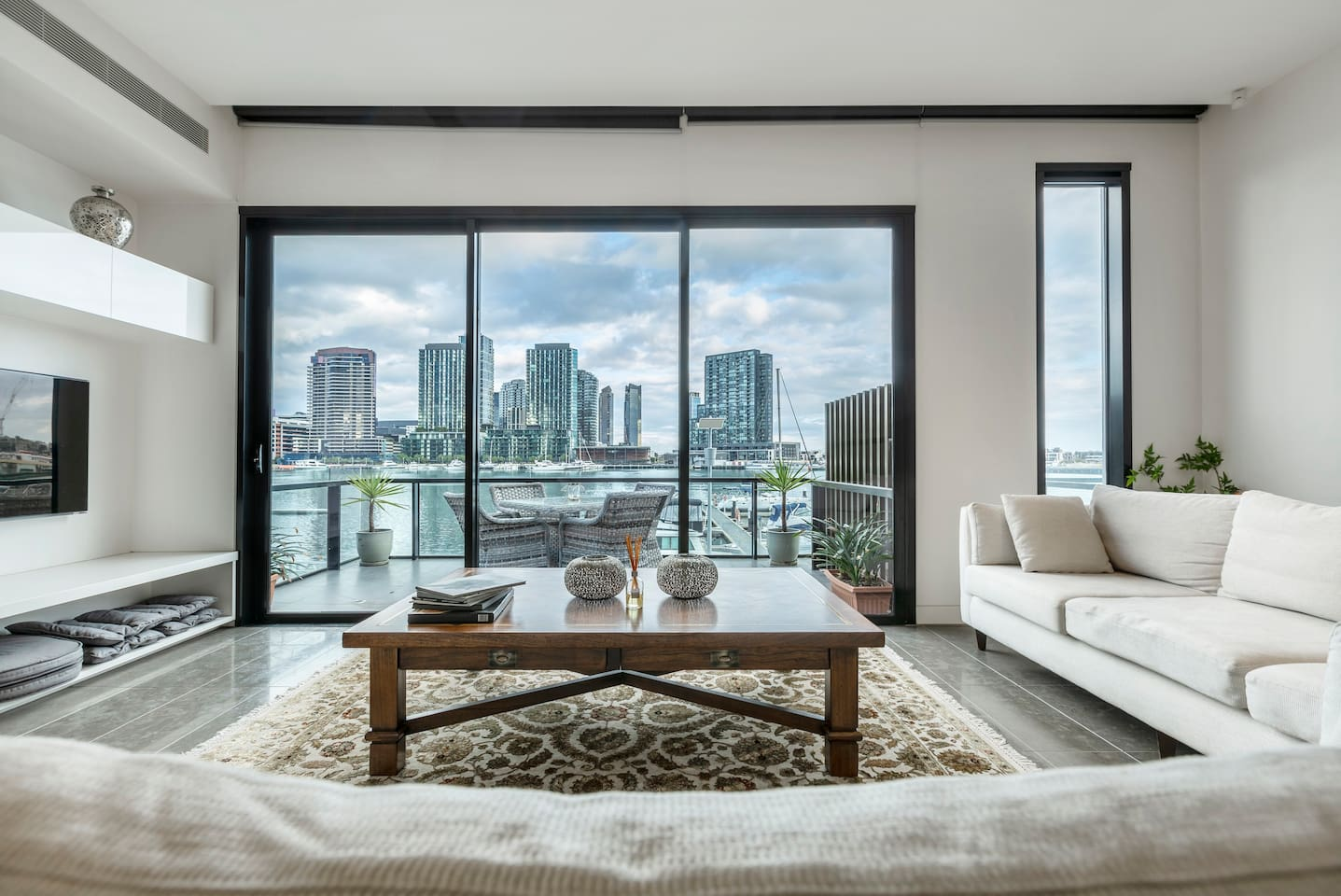 Living room with the views