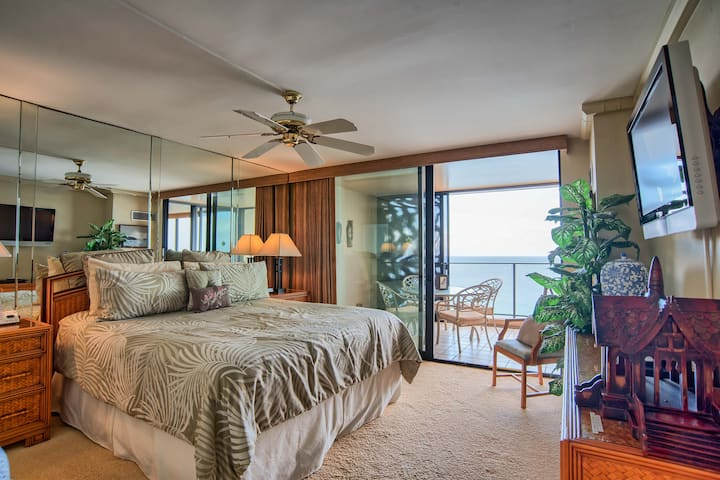 Premier Oceanfront Penthouse at The Mahana 1b/1b