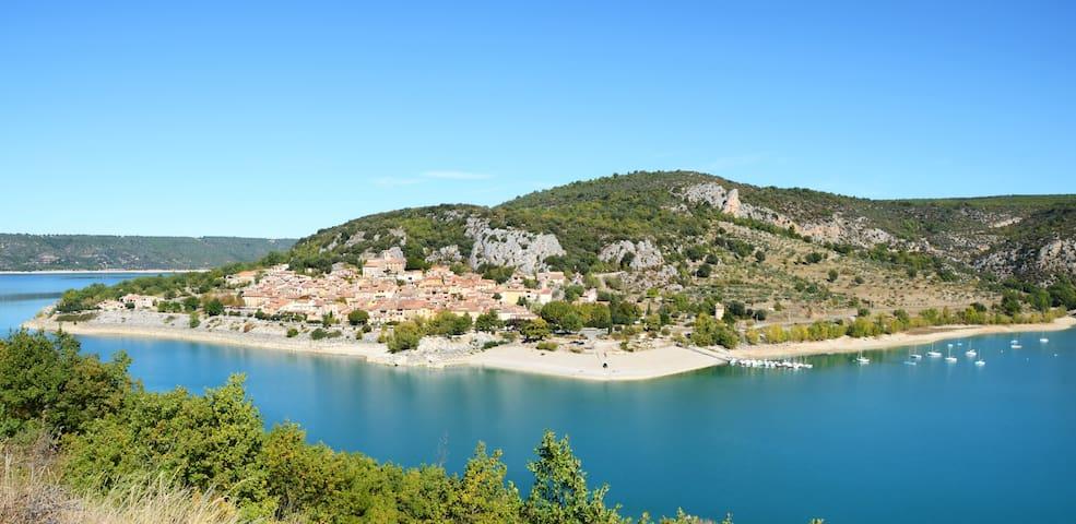 Gîte en Provence - Bauduen - Lac de Sainte-Croix
