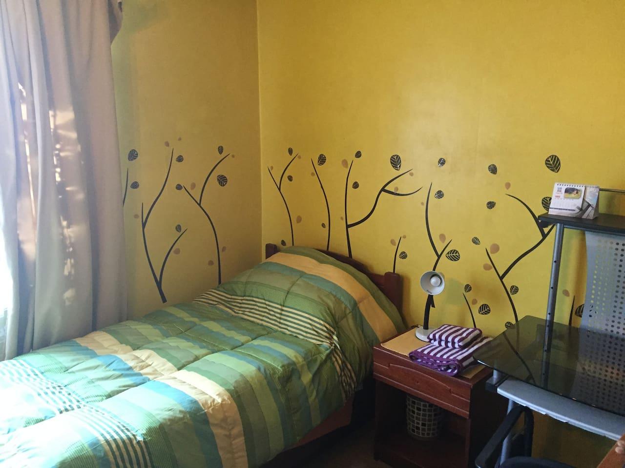 Tu pieza Your room