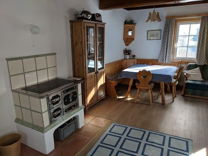 Traditionelles Ferienhaus in Grundlsee Österreich.