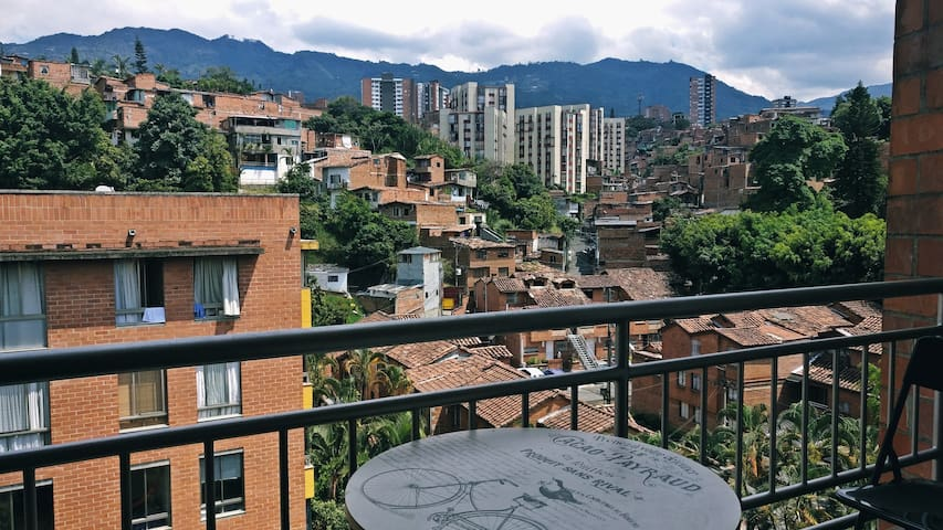 Amazing quiet place in Medellín - beautiful view! - Medellín - อพาร์ทเมนท์