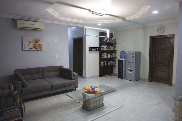 Private room in a service apartment
