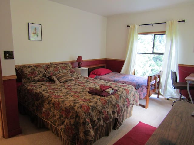 OUR Ecovillage Farmhouse: The Salmonberry Room