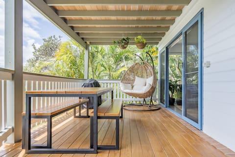 Byron Beech Pad - Studio de luxe avec balcon privé, Vues